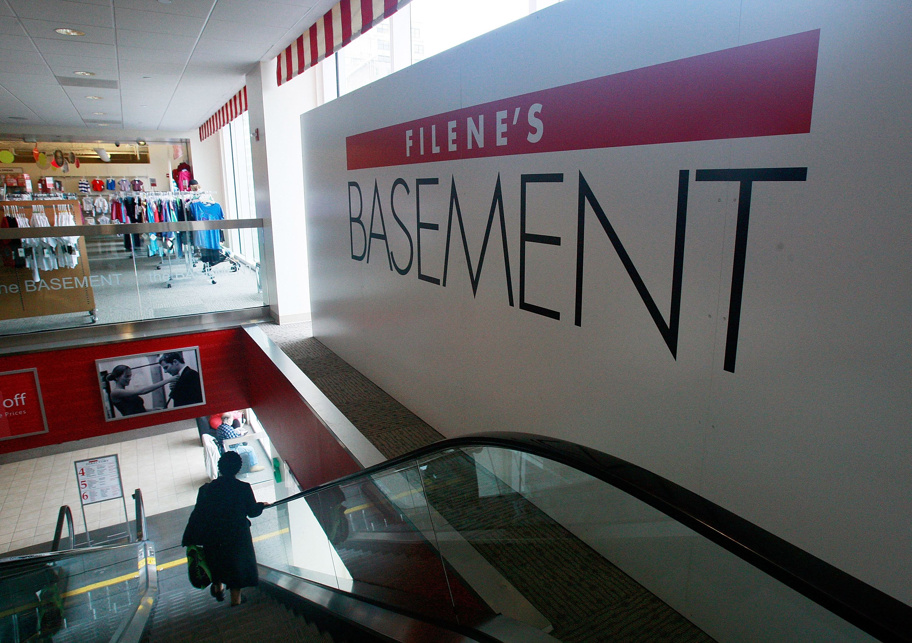 Filene's Basement Files For Chapter 11 Bankruptcy Protection