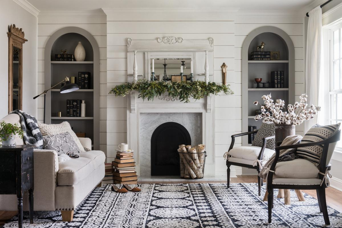 Fixer upper rug placement tips