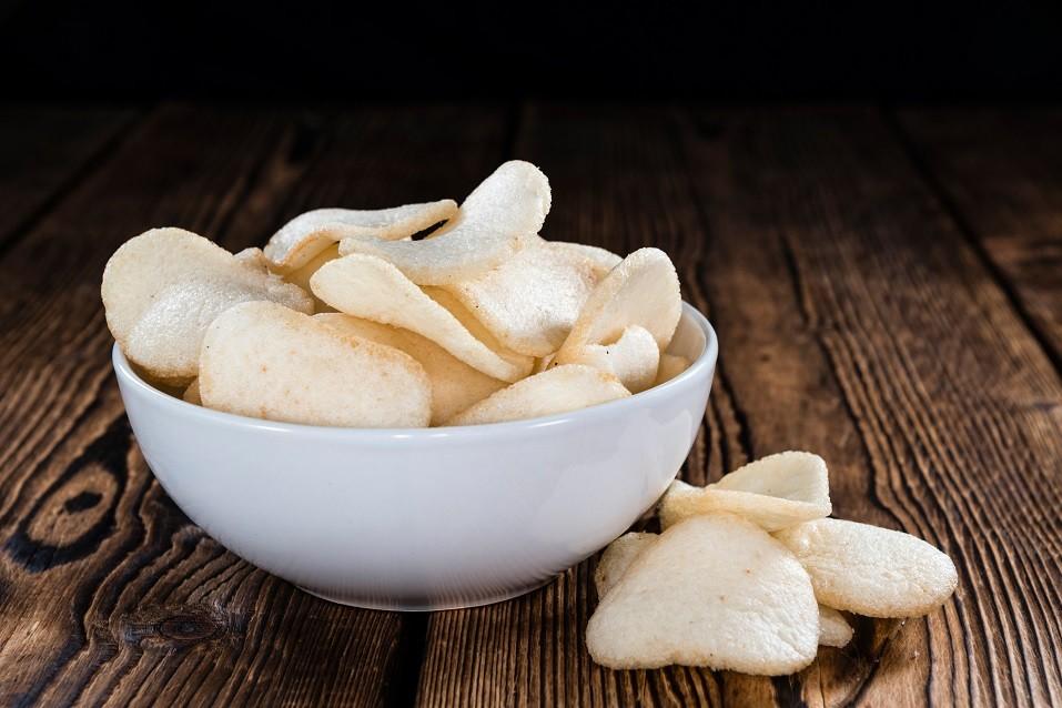 Fresh made Prawn Crackers (Krupuk)