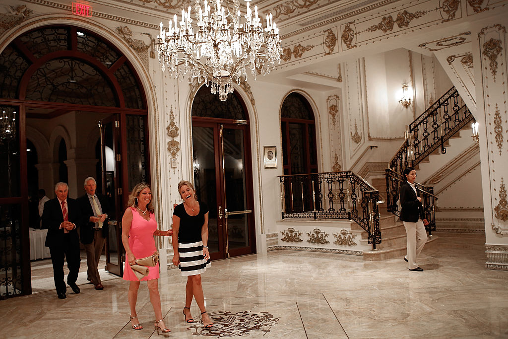 Guests arrive for a primary night event at Republican presidential candidate Donald Trump;s Donald J. Trump Ballroom