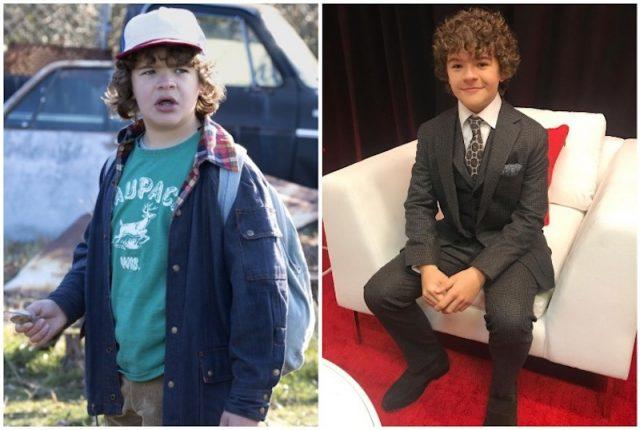 Gaten Matarazzo collage.