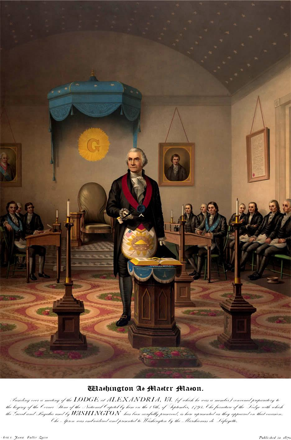 George Washington Freemasons