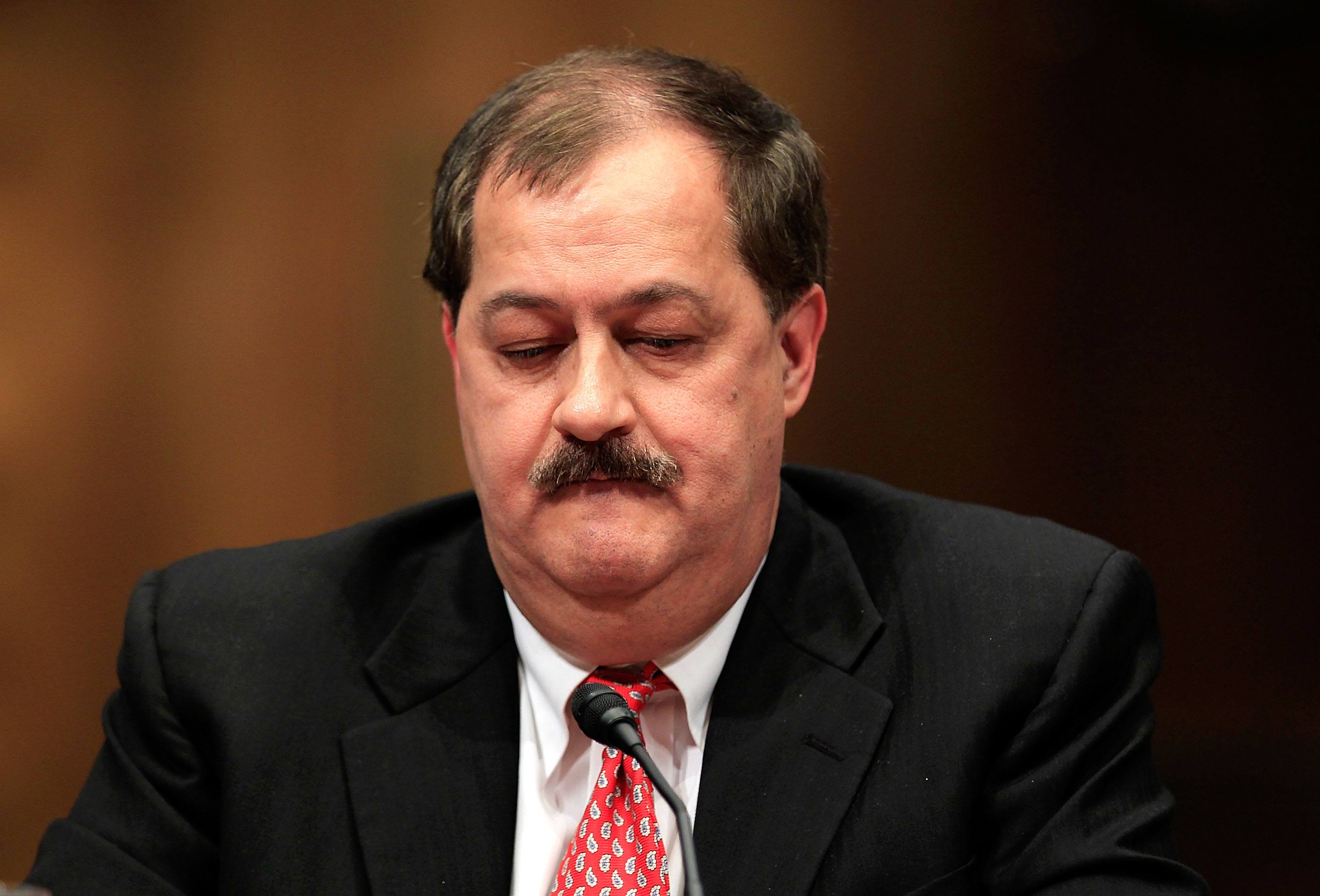 Don Blankenship can't possibly win an election ... can he?