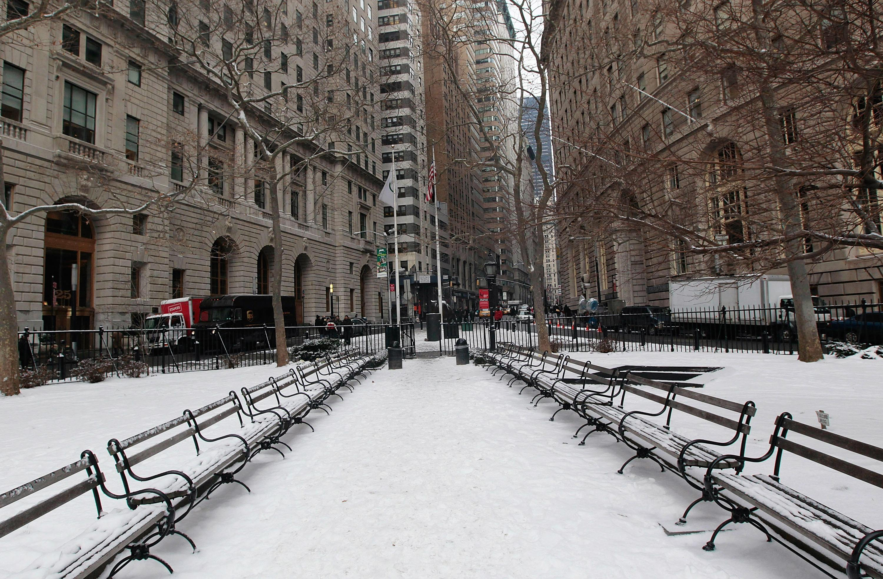 bowling green park, NYC