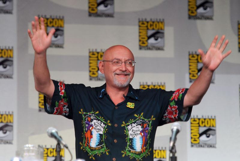 """Frank Darapont speaks at AMC's """"The Walking Dead"""" Panel during Comic-Con 201"""