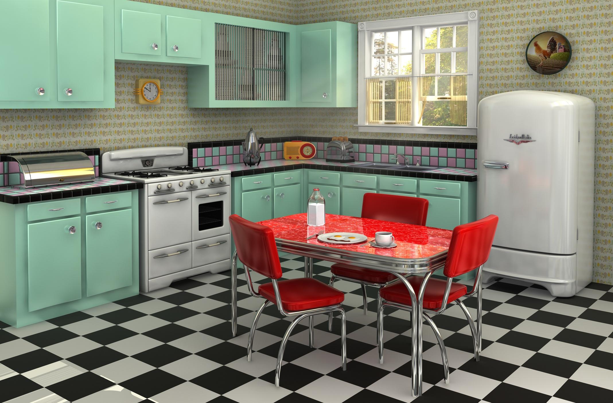 1950s kitchen