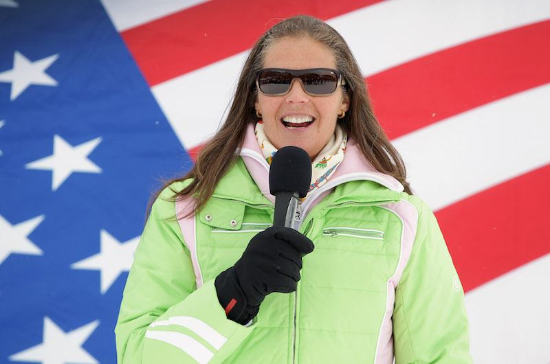 Picabo Street at the US Ski Team Speed Center at Copper on November 15, 201