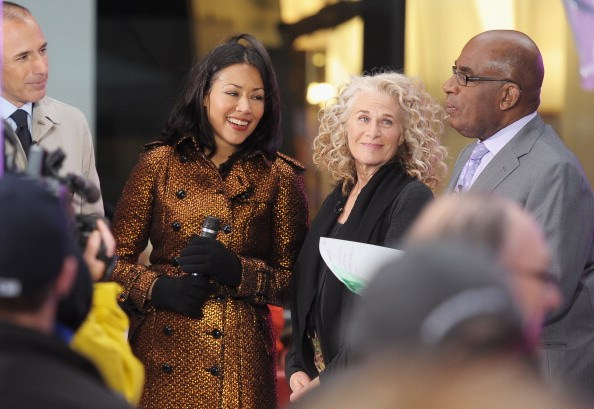 ann curry and the today staff in 2011