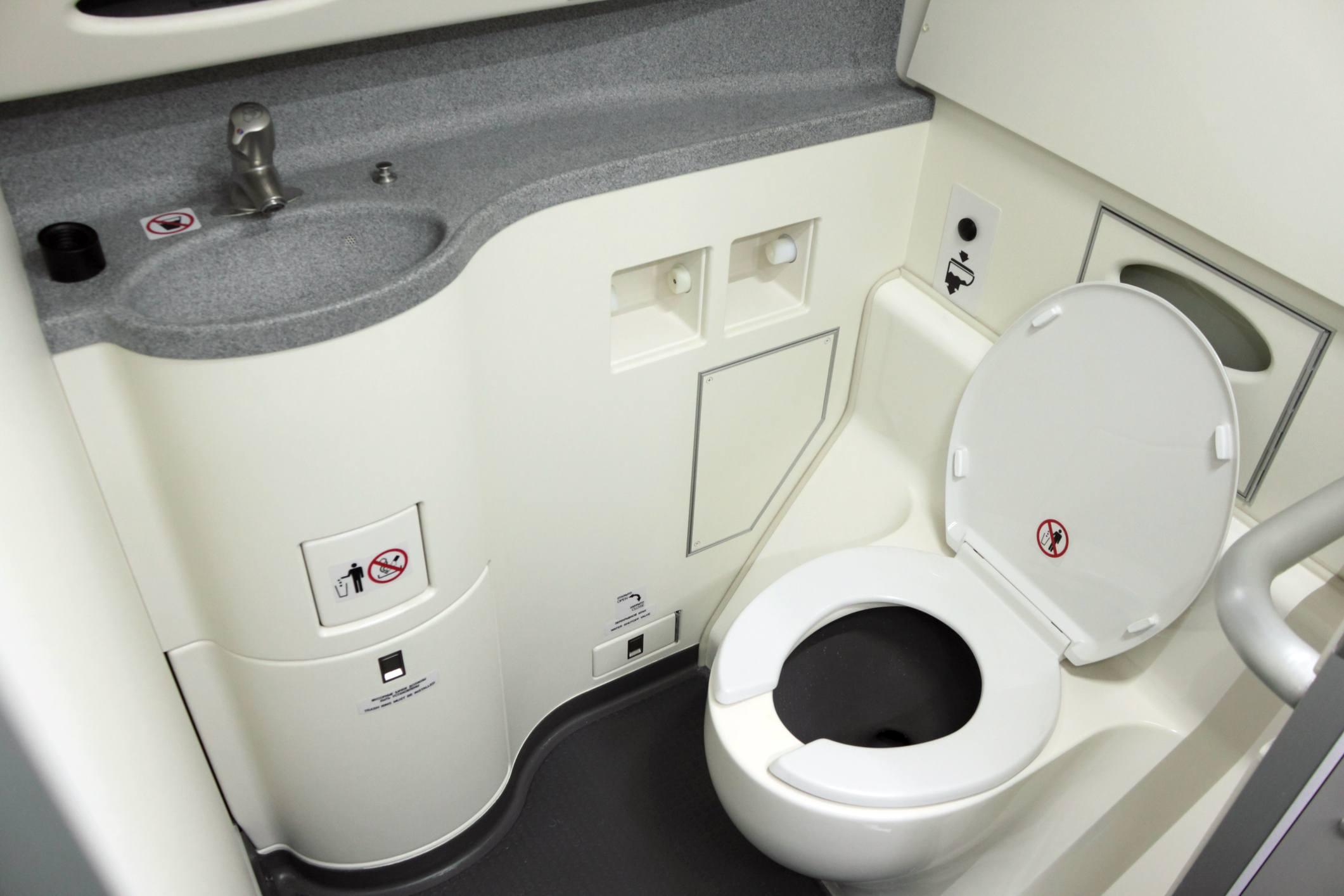 airplane bathroom