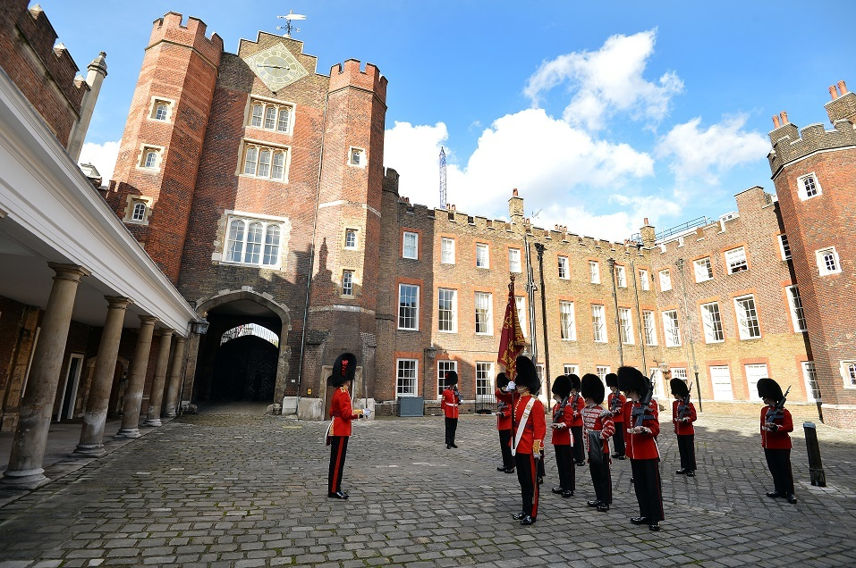 The St James's Palace detachment of The Queen's Guard