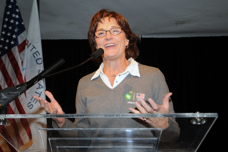 Olympic legend Bonnie Blair speaks