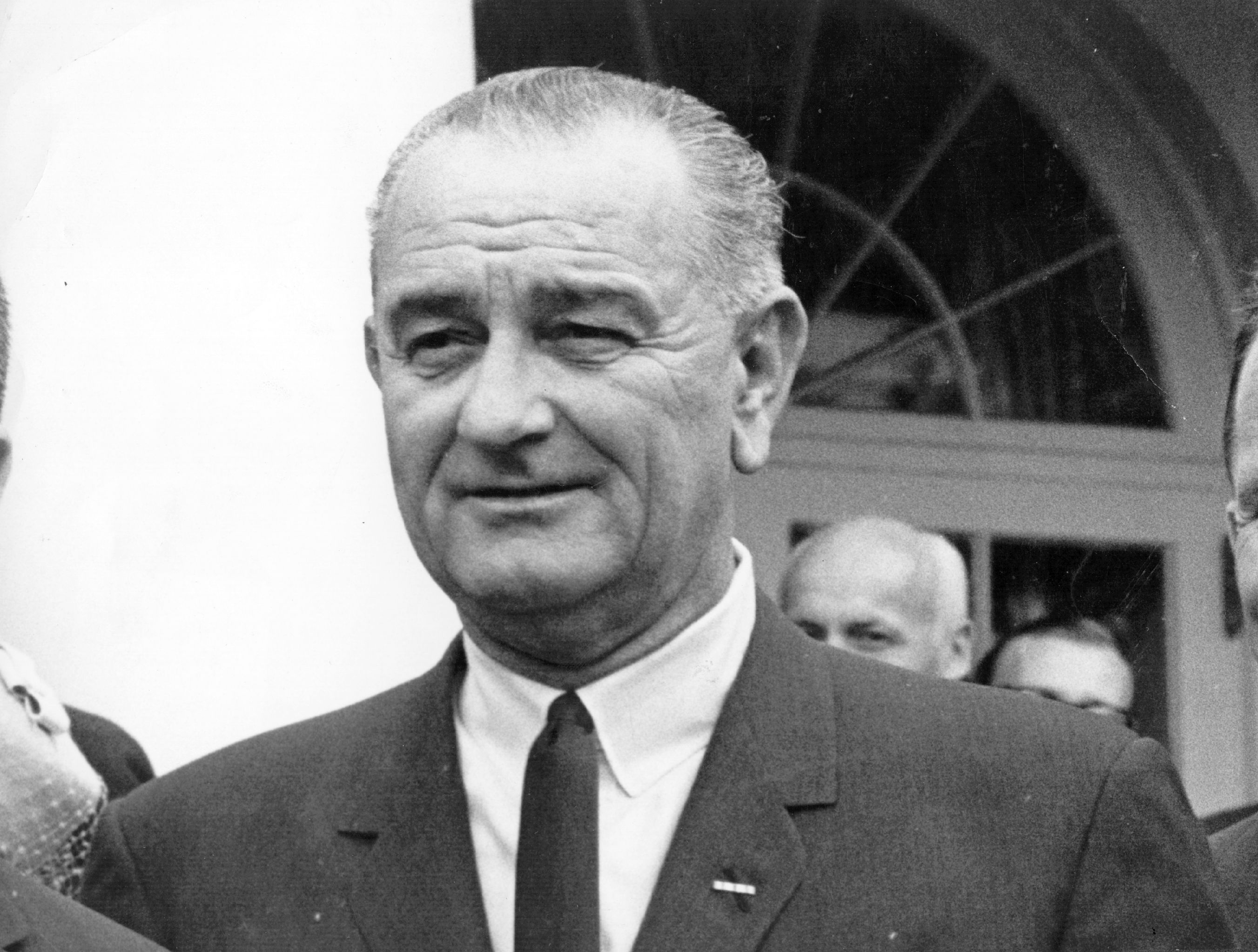 a portrait of lyndon b johnson