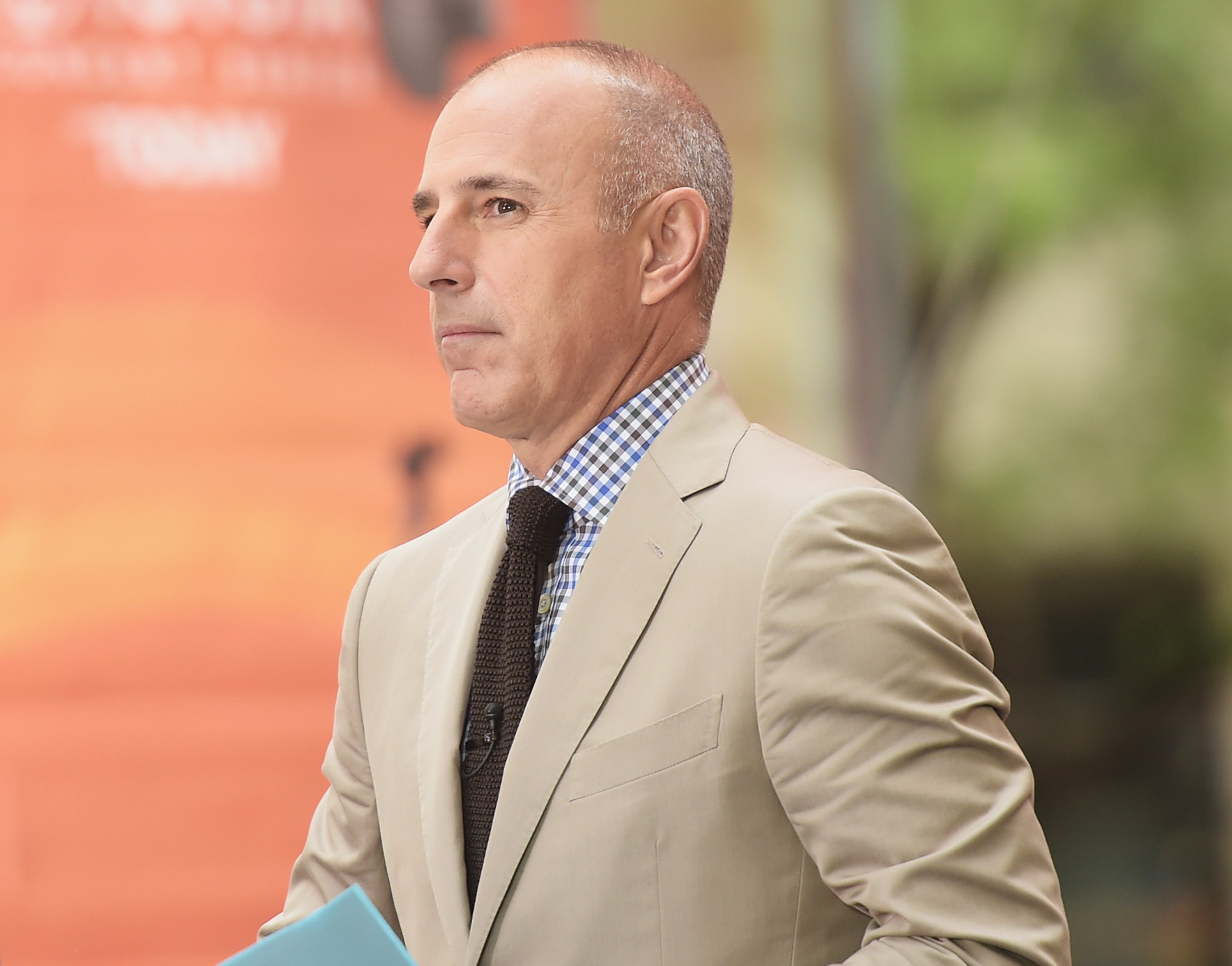 """Co-host Matt Lauer appears on NBC's """"Today"""" at the NBC's TODAY Show on August 22, 2014"""