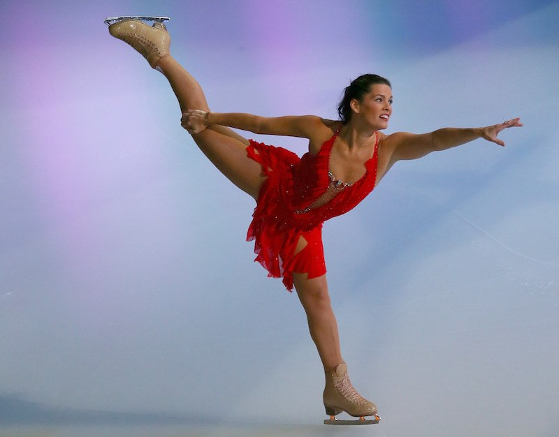 Nancy Kerrigan at Izod Center on December 11, 2013