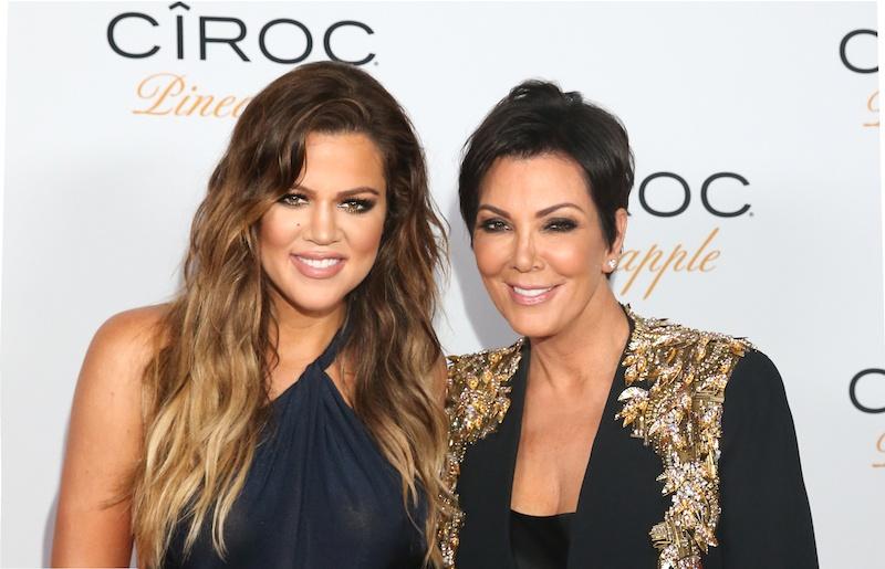 hloe Kardashian and Kris Jenner