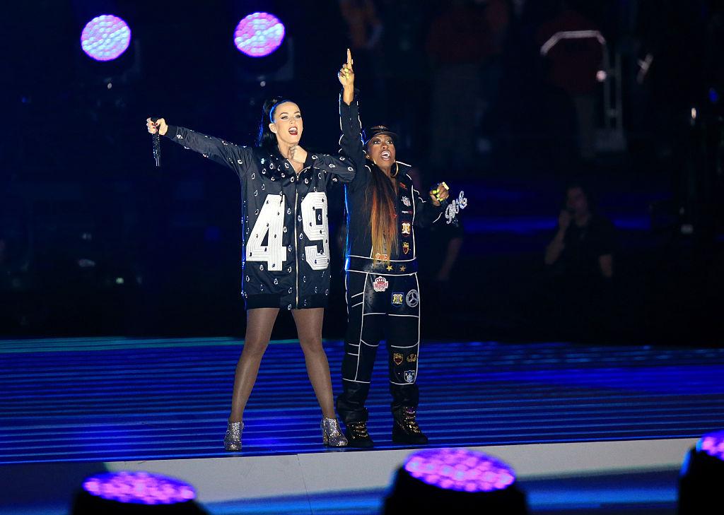 Katy Perry and Missy Elliott