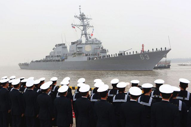 A Look Inside the Most Powerful Ships in the U S  Navy