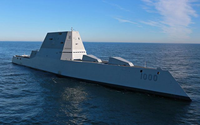 The USS Zumwalt (DDG 1000)