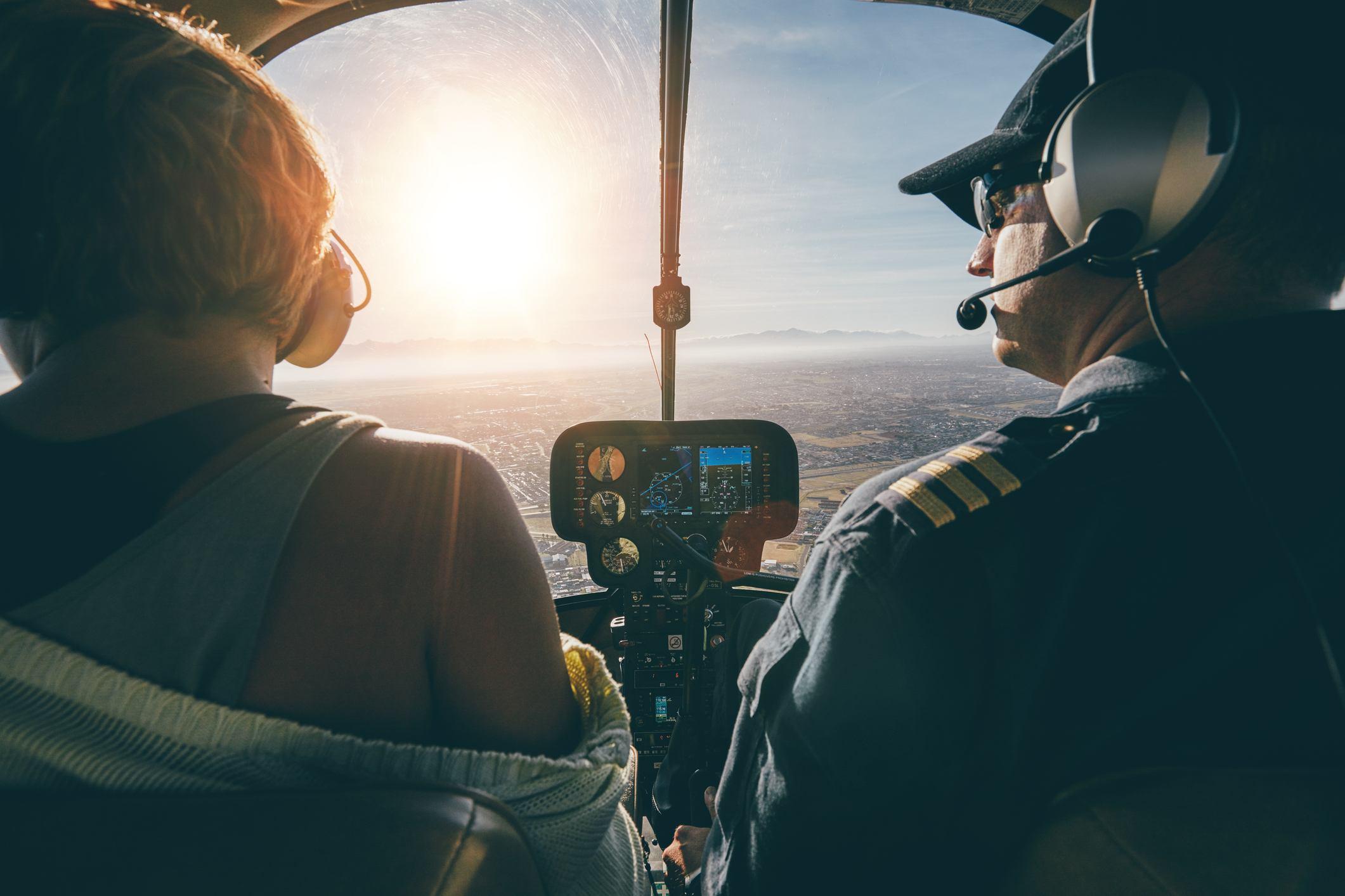pilots flying