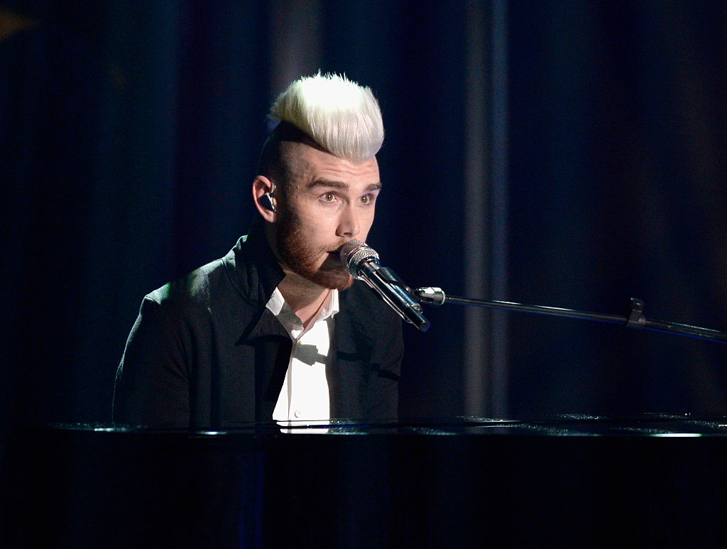 """Recording artist Colton Dixon performs onstage during FOX's """"American Idol"""" Finale For The Farewell Season at Dolby Theatre on April 7, 2016 in Hollywood, California. at Dolby Theatre on April 7, 2016 in Hollywood, California."""