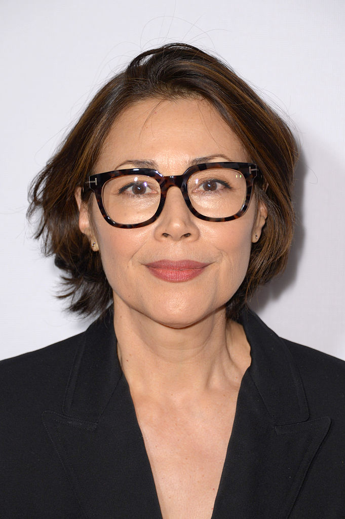 ann curry headshot glasses