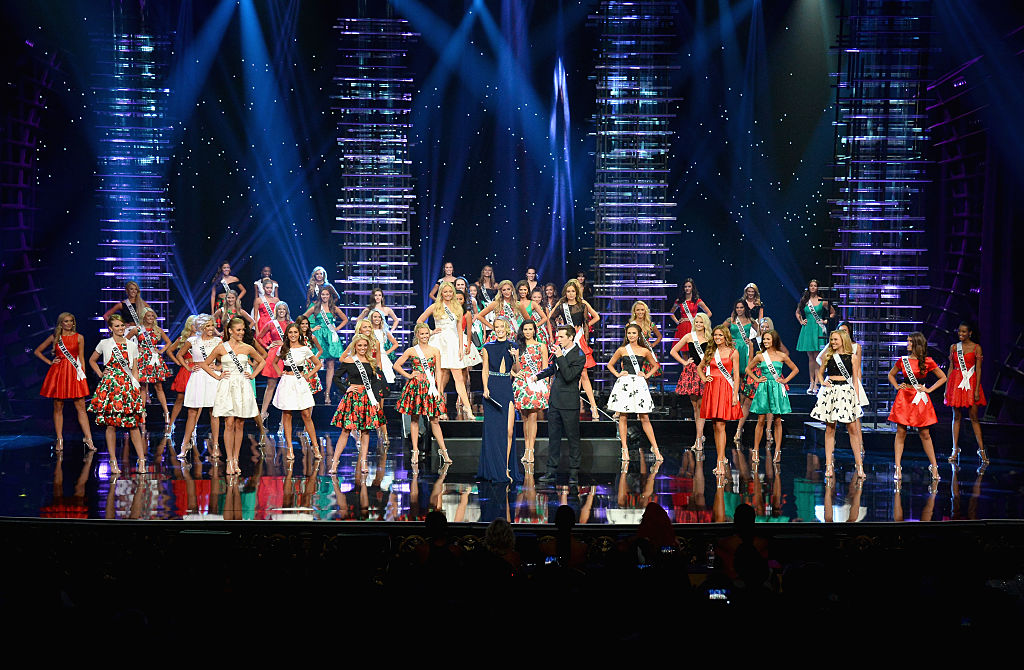 The 2016 Miss Teen USA Competition contestants