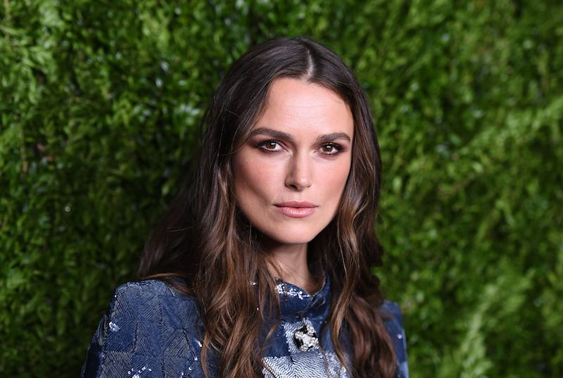 Keira Knightley attends the Chanel Fine Jewelry Dinner