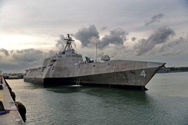 The US Navy's USS Coronado (LCS 4)