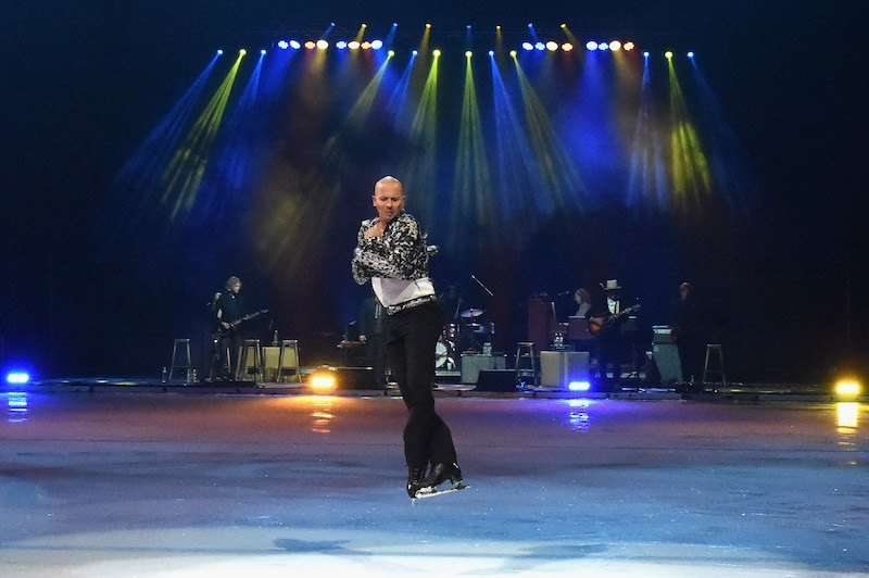 Brian Boitano performs at an Evening with Scott Hamilton and Friends to Benefit Scott Hamilton Cares Foundatio