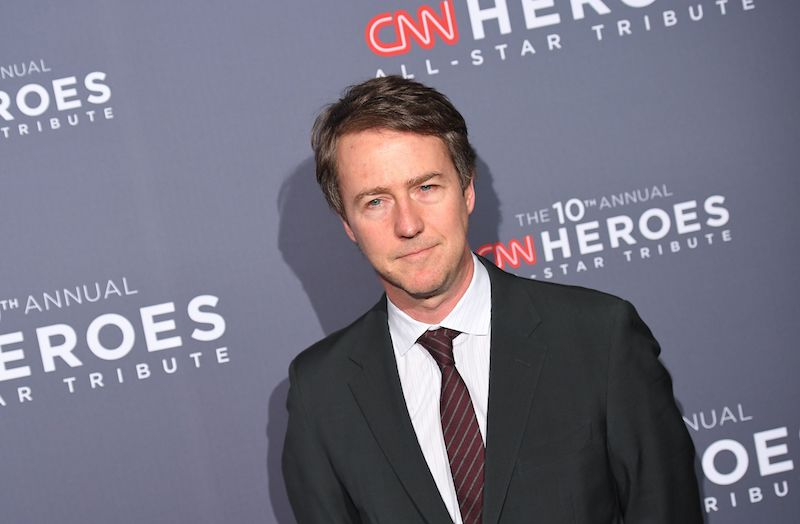 Edward Norton attends the 10th Annual CNN Heroes All-Star Tribute