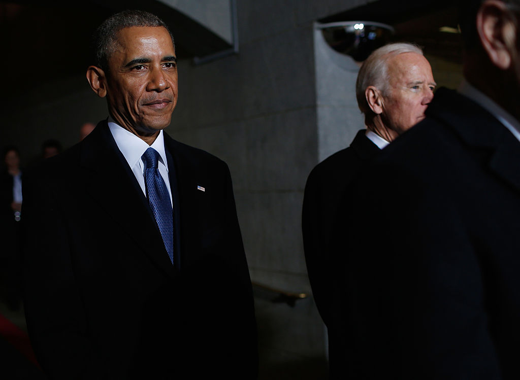 barack obama and joe biden at trump inauguration