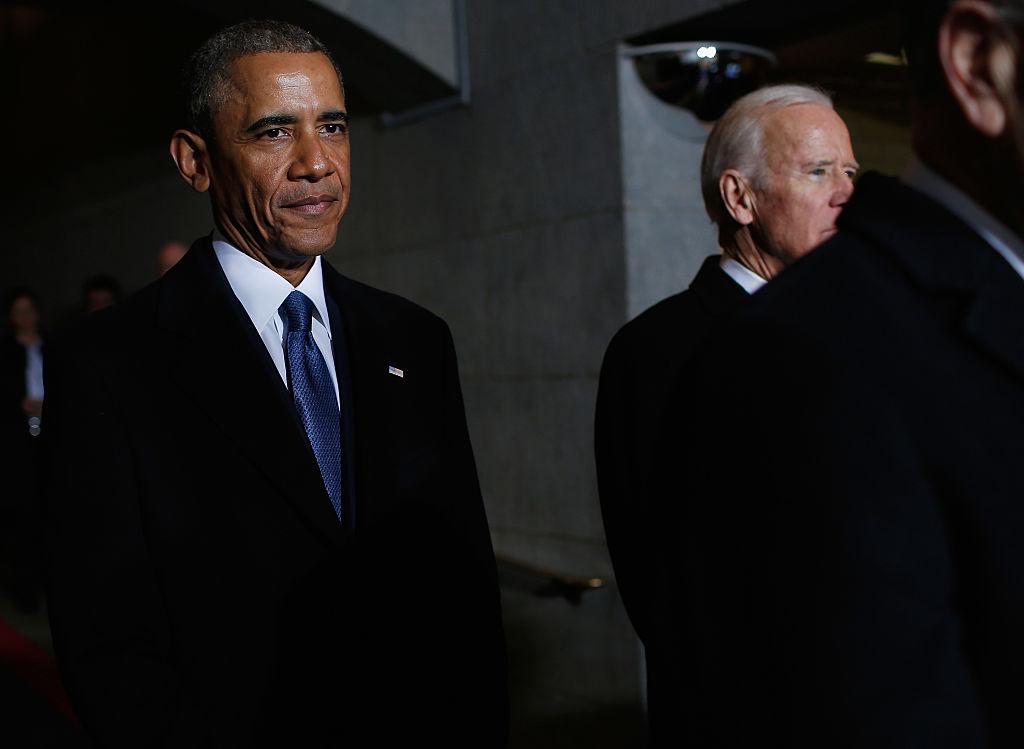 barack obama and joe biden at trump inauguration