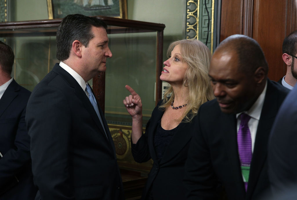 kellyann conway and ted cruz
