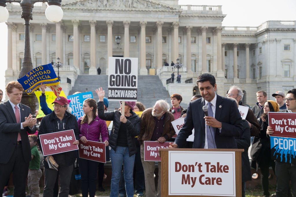 "Congressman Ro Khanna speaks at the ""Kill The Bill"" Rally"