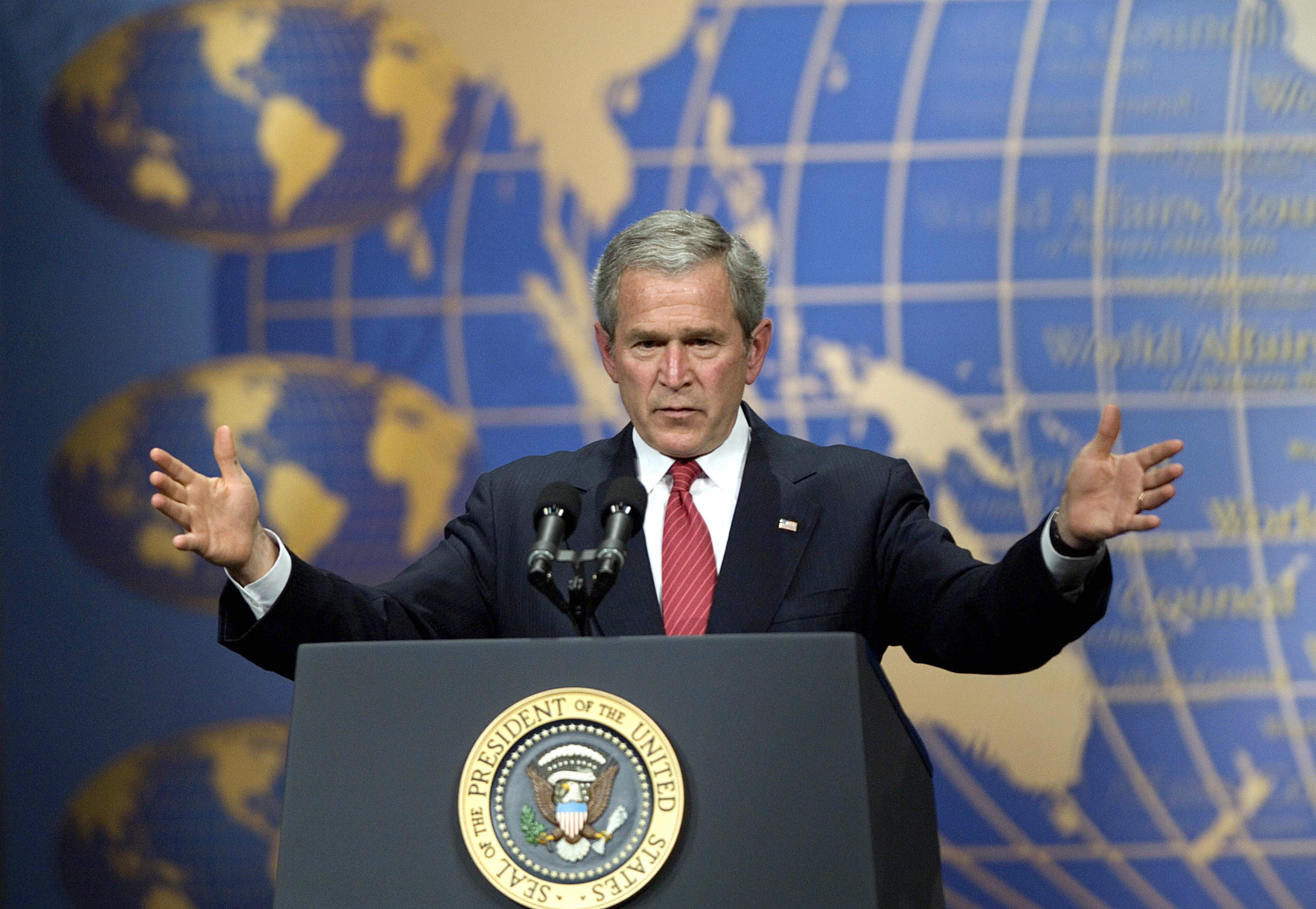 george w bush speaks