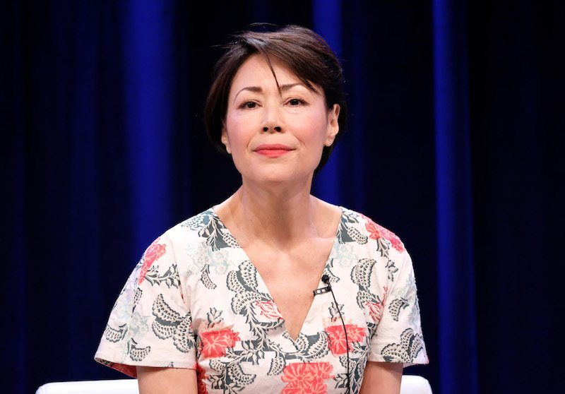Executive producer/reporter Ann Curry of 'We'll Meet Again' speaks onstag