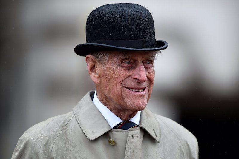 Prince Philip, Duke of Edinburgh, in his role as Captain General, Royal Royal Marines, makes his final individual public engagement