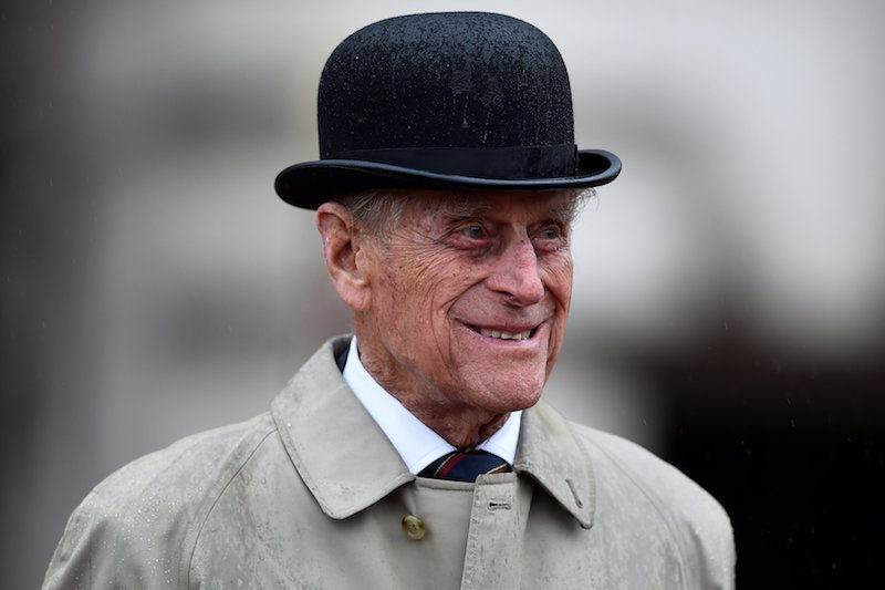 Prince Philip, Duke of Edinburgh, in his role as Captain General, Royal Royal Marines, makes his final individual public engagement