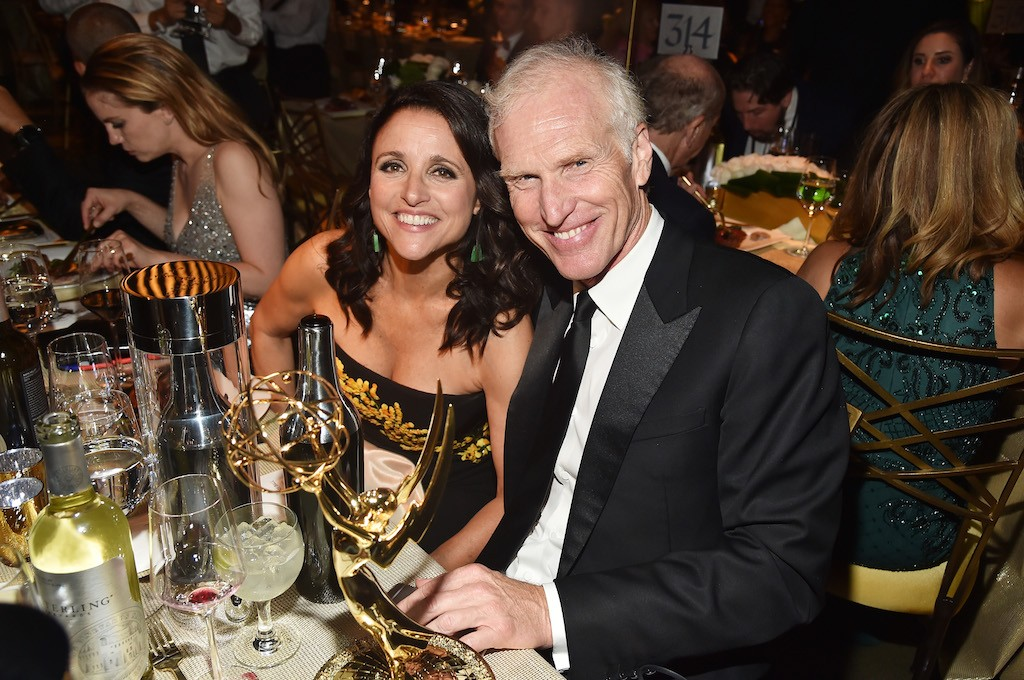 Julia Louis-Dreyfus and Brad Hall