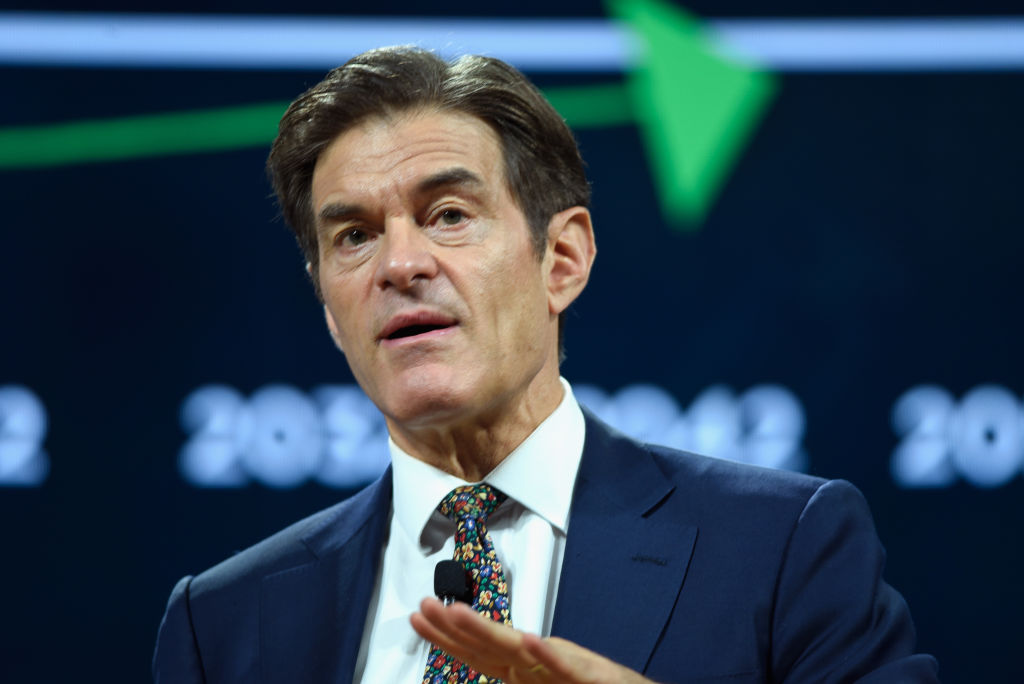 Dr. Oz speaking