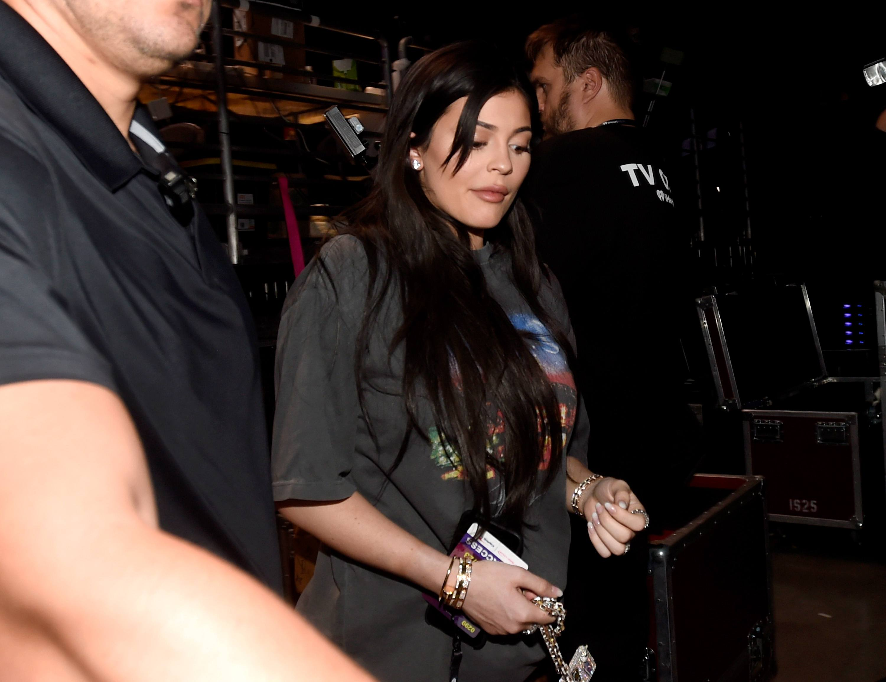 Kylie Jenner at iheartRadio