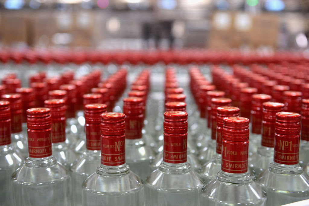 a smirnoff bottling facility