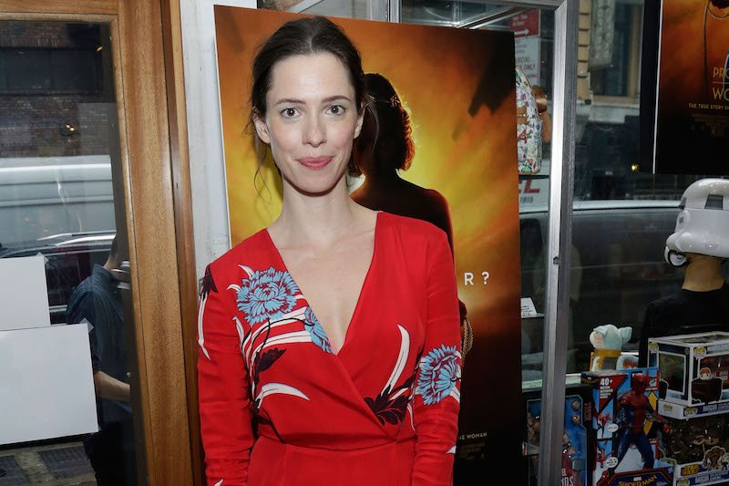 Actress Rebecca Hall attends the Professor Marston and the Wonder Women