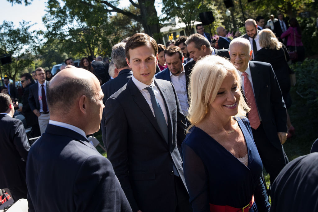 conway, kushner, and cohn walking
