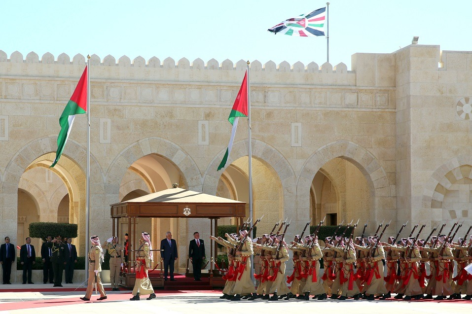 the Royal Palace in Amman