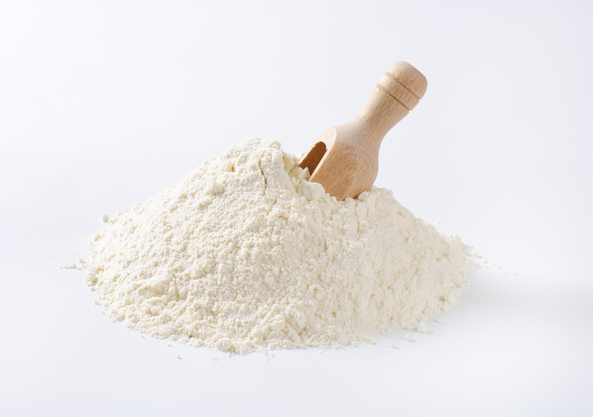 pile of flour