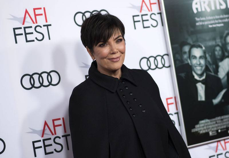 TV Personality Kris Jenner attends The Disaster Artist Centerpiece Gala