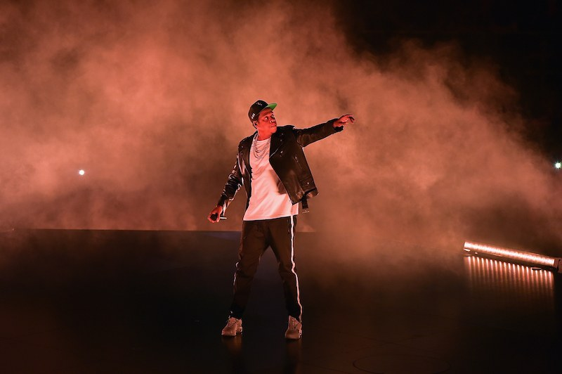 Jay Z performs at the American Airlines Aren