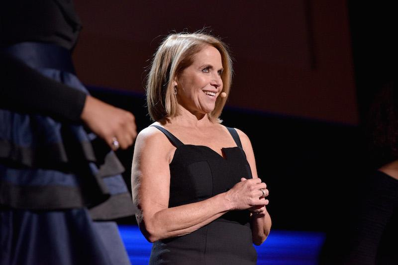 Katie Couric speaks onstage