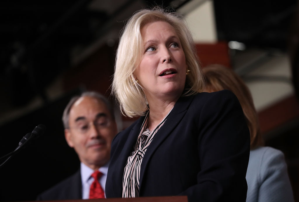 kirsten gillibrand in the capital